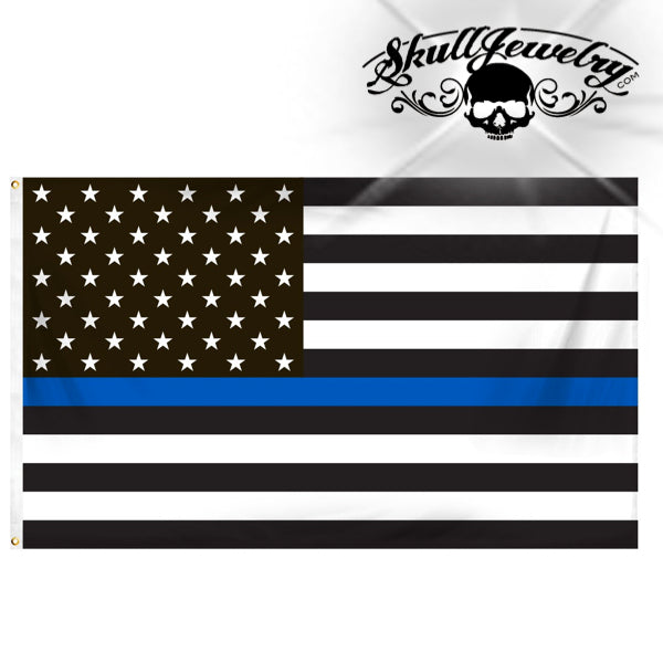 3' x 5' Thin Blue Line Flag