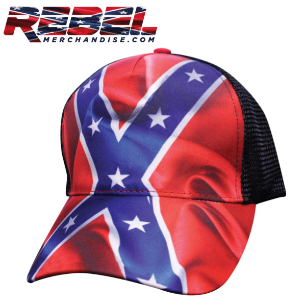 rebel flag hat