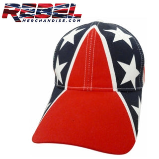 Big Stars Rebel Flag Hat