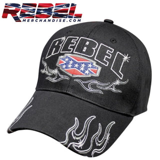 Rebel Flames Hat