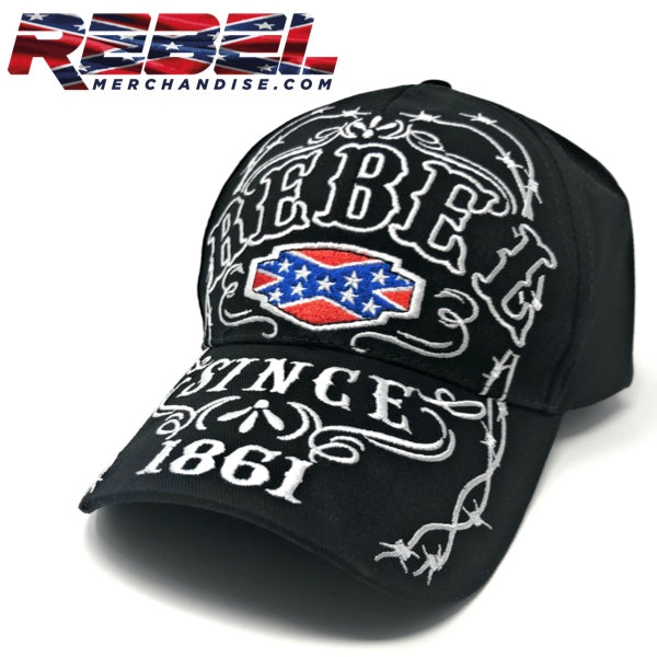 Rebel Since 1861 Hat