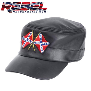Leather Rebel Cap