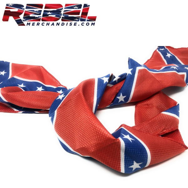mens confederate flag scarf