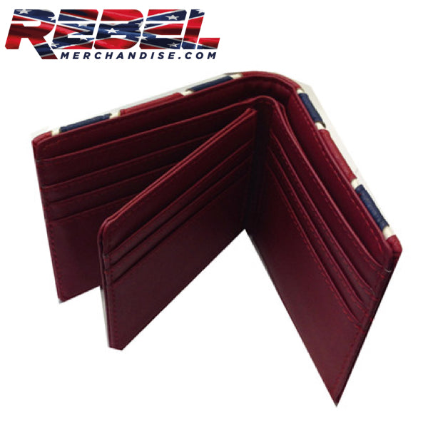 rebel billfold wallet leather