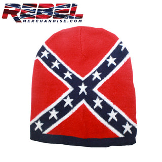 rebel flag beanie