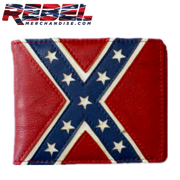 rebel flag wallet