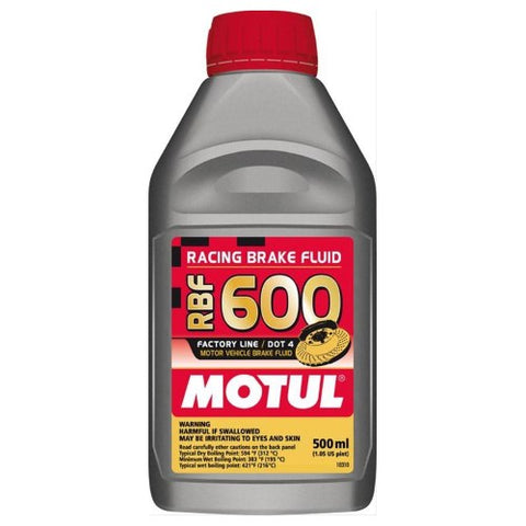 Motul RBF 600 Brake Fluid 500mL 100949