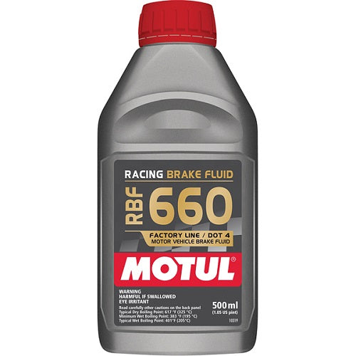 Motul RBF 660 Brake Fluid 500mL 101667