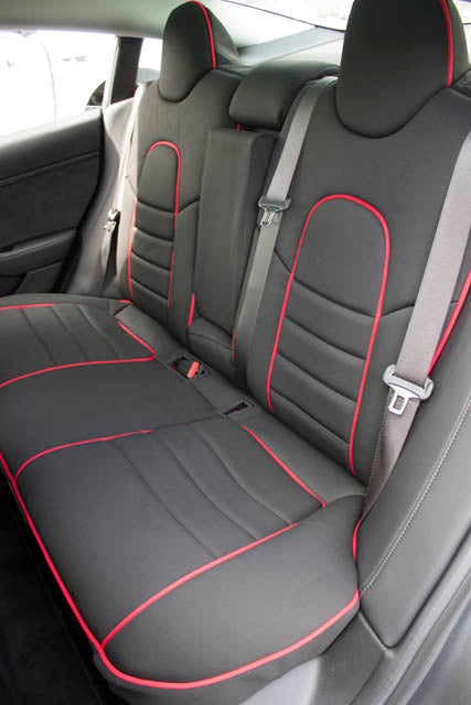 Wet Okole Full Piping Seat Covers for Tesla Model 3Wet OkoleEV Tuning