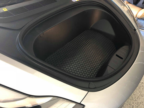 Tesla Model 3 Frunk Mat HexOmat All-WeatherIntro-TechEV Tuning