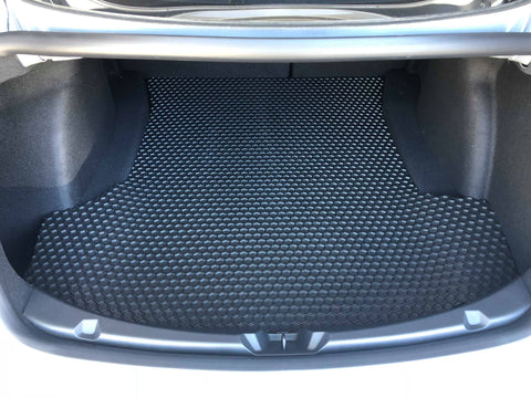 Tesla Model 3 HexOmat All-Weather Custom Fit Trunk Mat