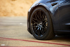"VMR V801 Tesla Model 3 18"" Titanium Black Shadow Front Wheel"