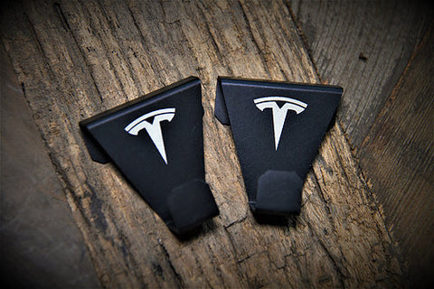 EVampedup Tesla Model S Panoramic Roof Coat Hooks