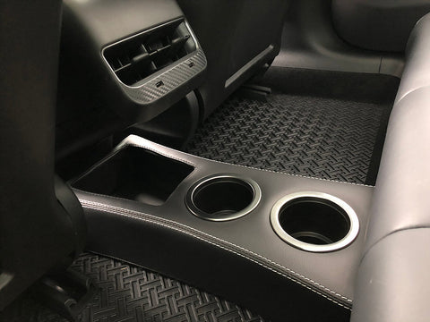 EVAMPED Model 3 Rear Center Console/Cup HolderEVampedupEV Tuning
