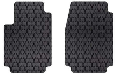 Tesla Model X Floor Mats Hexo-Mat All-Weather Front Row