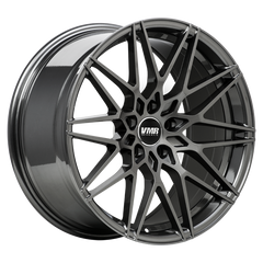 "VMR V801 Tesla Model 3 19"" Staggered Wheel/Tire Set Anthracite Metallic"