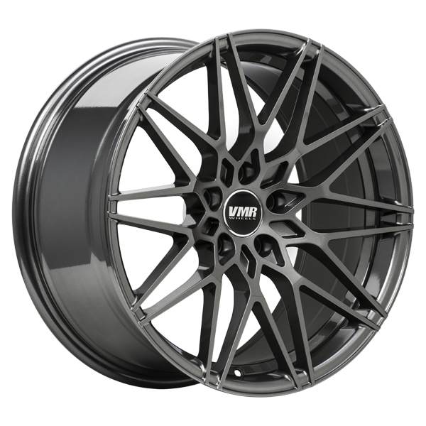 "VMR V801 Tesla Model 3 18"" Staggered Wheel/Tire Set Anthracite"