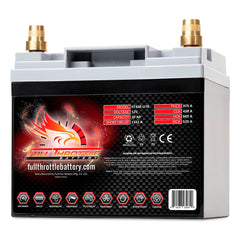 High Capacity Dual Purpose AGM 12v Battery for Tesla Model SFullriver BatteryEV Tuning