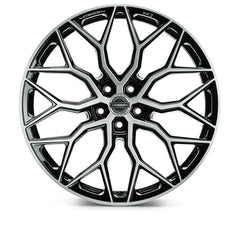 "19""/20""/21""/22"" Vossen HF-2 Flow Formed Wheels for Tesla Model X Black"