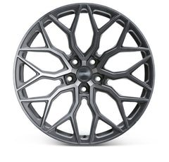 "19""/20""/21""/22"" Vossen HF-2 Flow Formed Wheels for Tesla Model X Gunmetal"