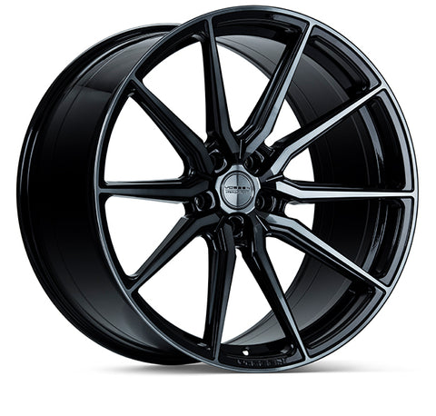 "19""/20""/21""/22"" Vossen HF-3 Flow Formed Wheels for Tesla Model X Black"