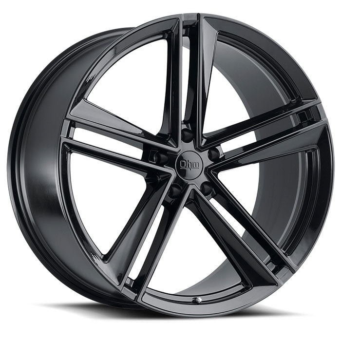 "TSW Ohm Lightning 20"" Staggered Wheel/Tire set for Model XTSWEV Tuning"