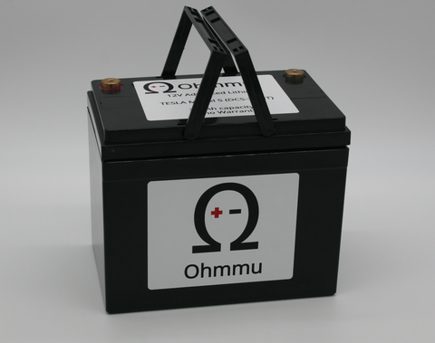 Ohmmu 12v Lithium Battery for Tesla Model SOhmmuEV Tuning
