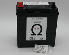 Ohmmu 12v Lithium Battery for Tesla Model XOhmmuEV Tuning