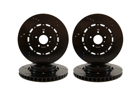 RB Performance 2-Piece 355x32mm Front / 365x28mm Rear Rotor Upgrade w/ Pads for Tesla Model S/X TES-IRK-01