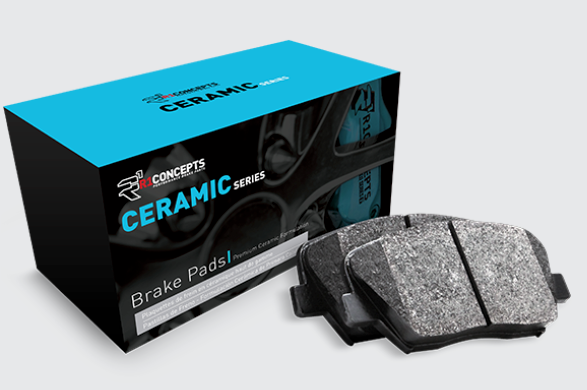 Tesla Model S/X Ceramic Brake Pads 2012-2019EV TuningEV Tuning