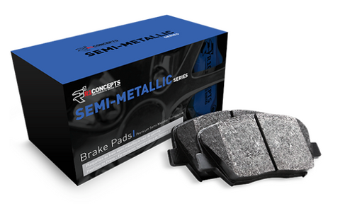 Tesla Model S Semi-Metallic Brake Pads 2012-2016