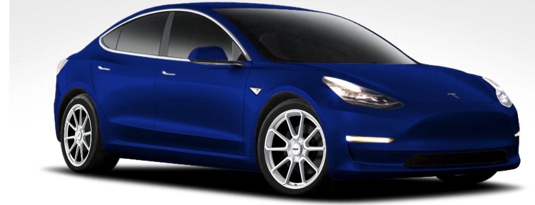 "TSW Sonoma 18"" Wheel/Tire Set Tesla Model 3"
