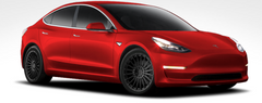 "TSW Turbina 19"" Wheel/Tire Set Tesla Model 3TiresEV Tuning"