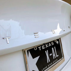 Tesla Model 3 Performance EmblemAbstract OceanEV Tuning