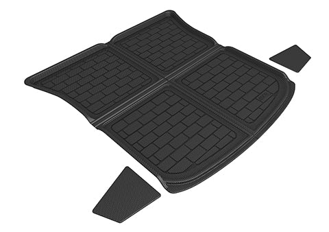 3D MAXpider 2020 Tesla Model Y Kagu Cargo Liner - Upper Rear - Black
