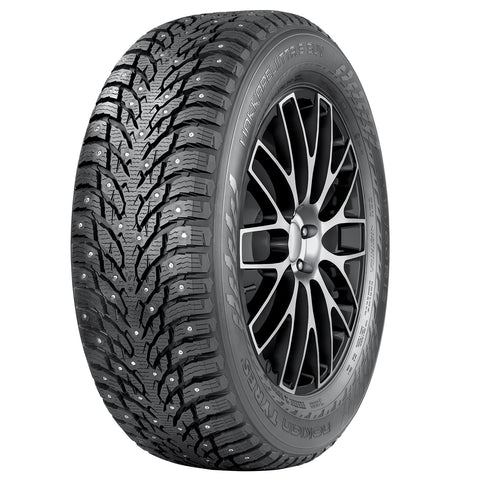 "Nokian Hakkapeliitta 9 Studded SUV Tires XL for Tesla Model X with 20"" Staggered WheelsNokianEV Tuning"