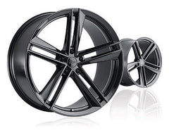 "TSW Ohm Lightning 18"" Wheel/Tire set for Model 3TSWEV Tuning"