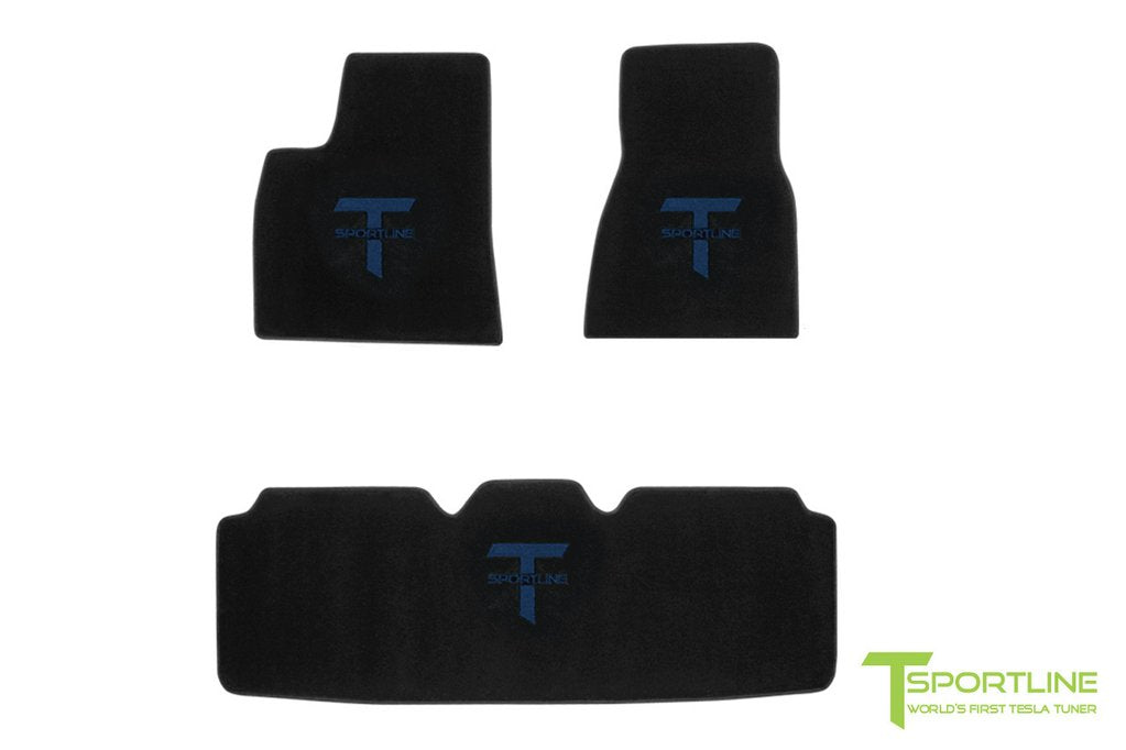 Tesla Model S Floor Mat Set (2012 - May 2016)