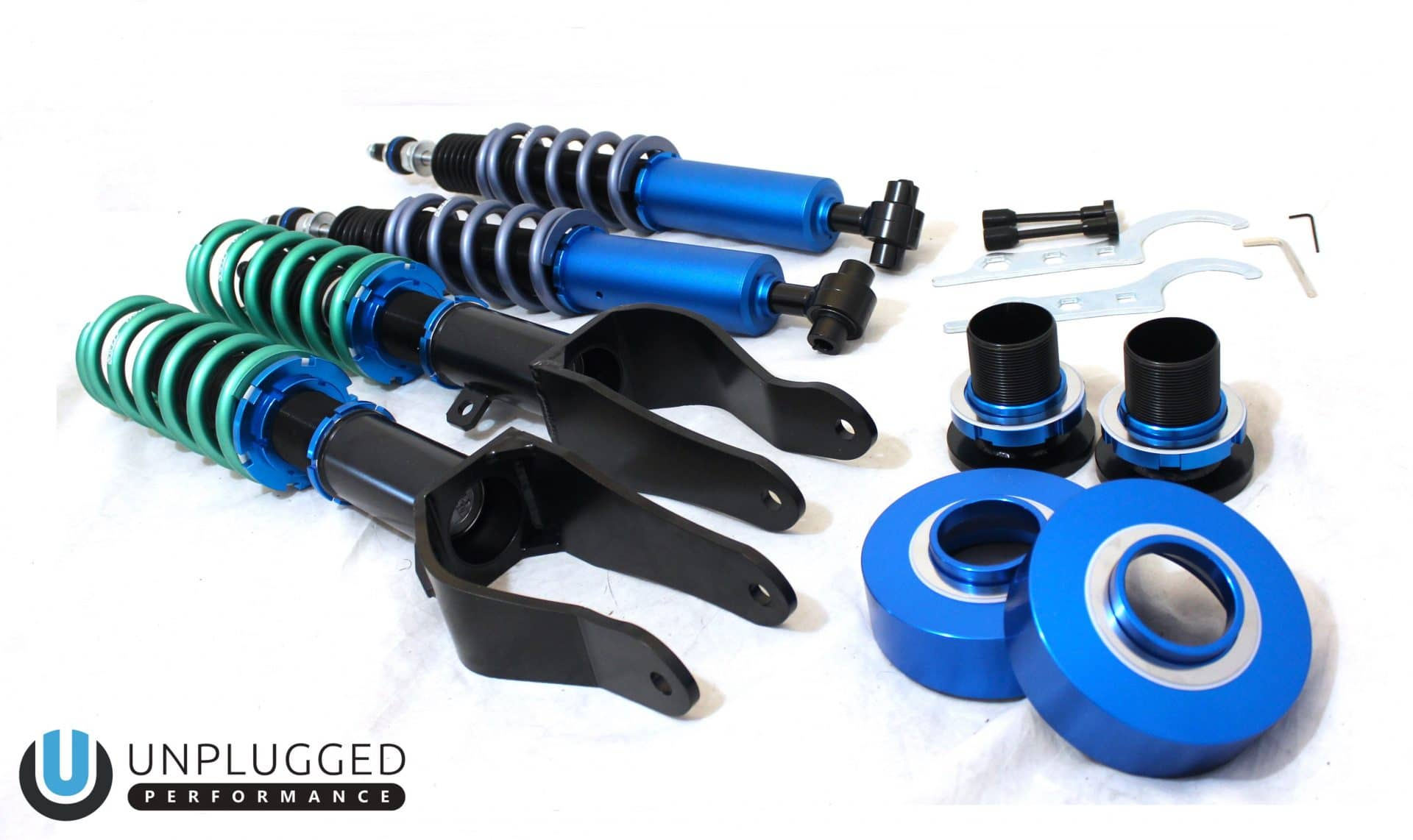Unplugged Performance Coilover Suspension Kit for Tesla Model 3Unplugged PerformanceEV Tuning