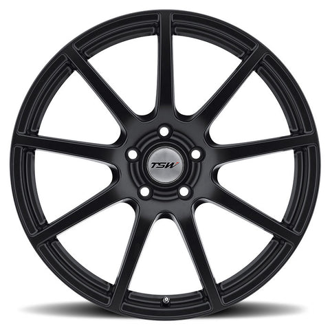 "TSW Interlagos 18"" Staggered Wheel/Tire Set Tesla Model 3TSWEV Tuning"