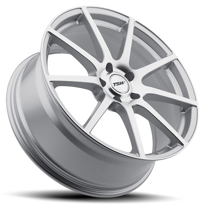 "TSW Interlagos 19"" Staggered Wheel/Tire Set Tesla Model 3TSWEV Tuning"