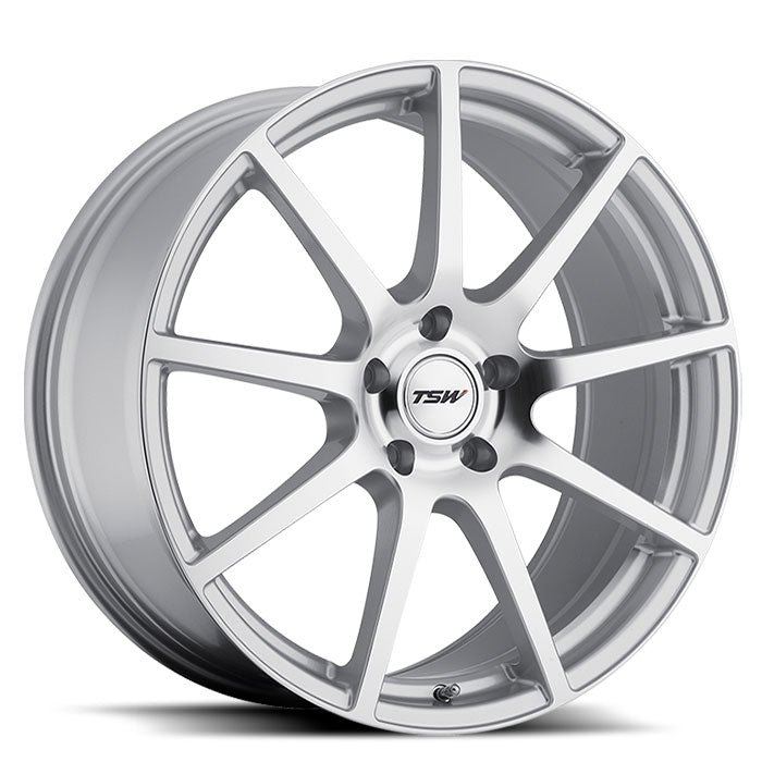 "TSW Interlagos 20"" Square Wheel/Tire Set Tesla Model 3TSWEV Tuning"