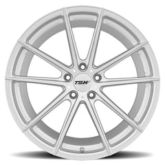 "TSW Bathurst 21"" Wheel/Tire Square Set for Tesla Model STSWEV Tuning"