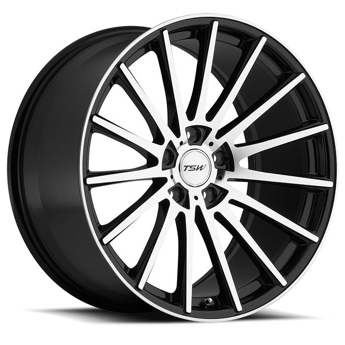 "TSW Chicane 19""/20"" Wheel/Tire Set for Tesla Model STSWEV Tuning"