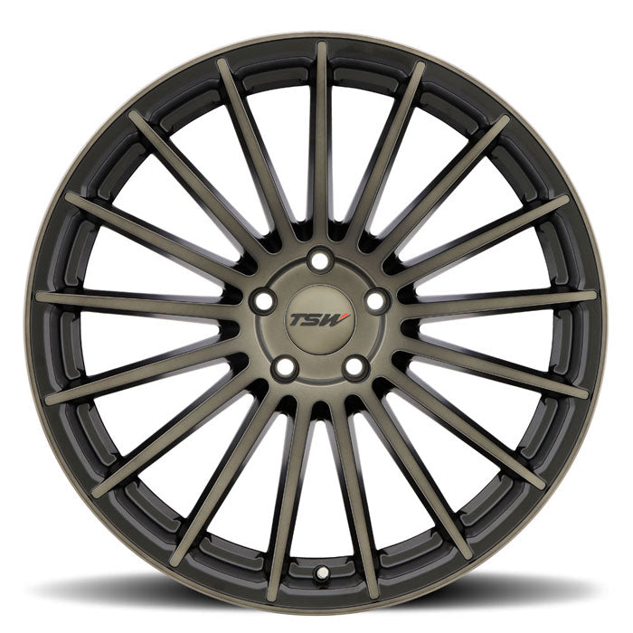 "TSW Luco 20"" Staggered Wheel/Tire Set Tesla Model 3TSWEV Tuning"