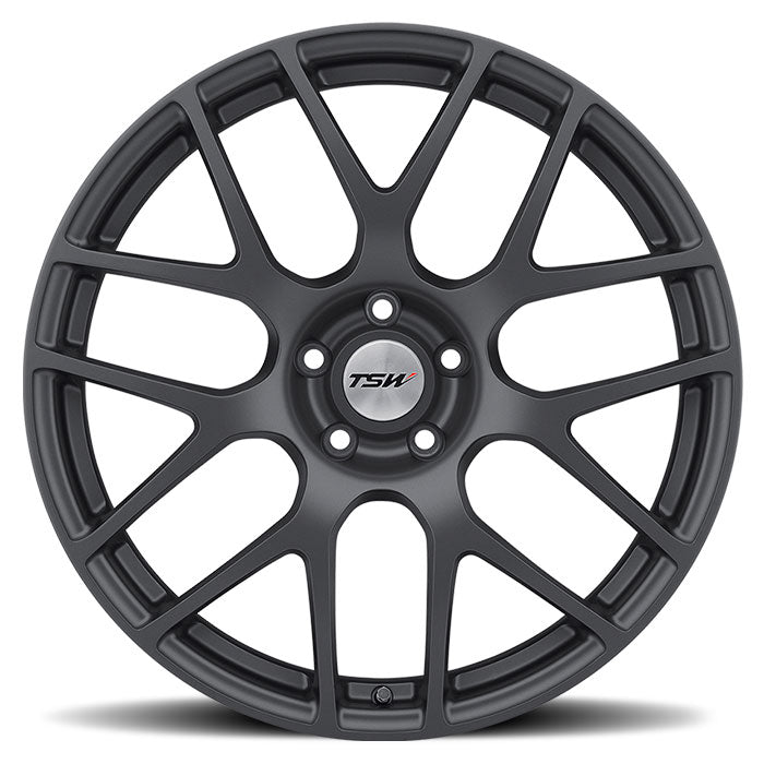 "TSW Nurburgring 18"" Wheel/Tire Set Tesla Model 3TSWEV Tuning"