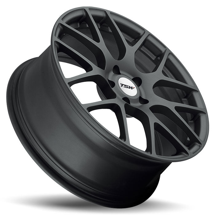 "TSW Nurburgring 18"" Staggered Wheel/Tire Set Tesla Model 3"