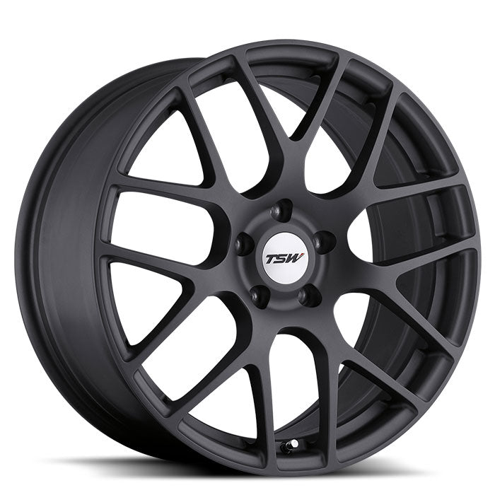 "TSW Nurburgring 19"" Wheel/Tire Set Tesla Model 3TSWEV Tuning"