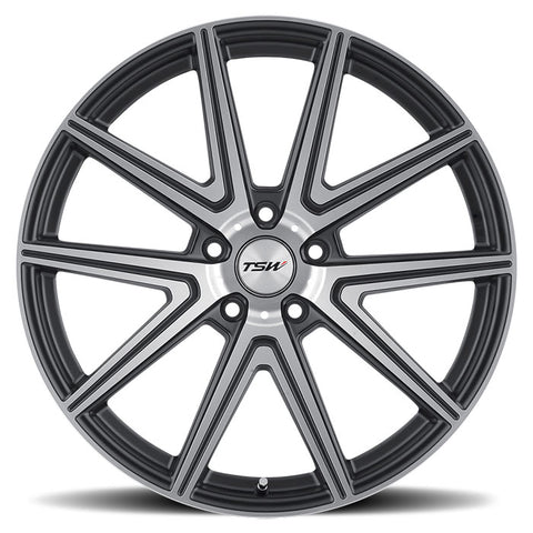 "TSW Rouge 18"" Staggered Wheel/Tire Set Tesla Model 3TSWEV Tuning"