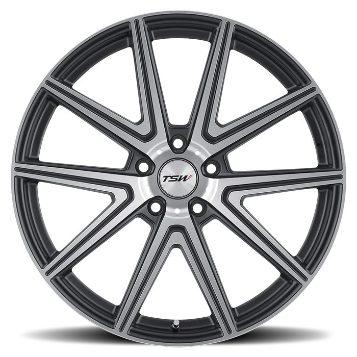 "TSW Rouge 20"" Staggered Wheel/Tire Set Tesla Model 3TSWEV Tuning"